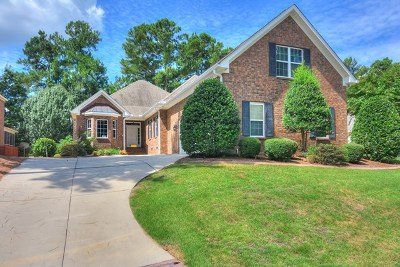 Aiken Single Family Home For Sale: 113 Bald Cypress Ct