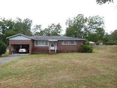 Edgefield County Single Family Home For Sale: 407 Pine St