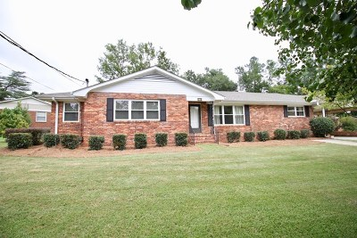 North Augusta Single Family Home For Sale: 913 Jackson Ave