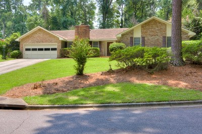 North Augusta Single Family Home For Sale: 954 Campbellton Drive