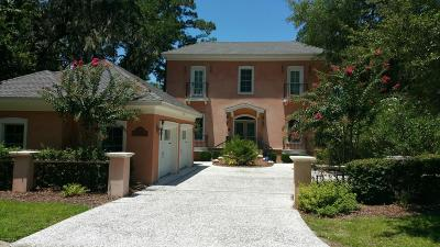 Baufort, Beaufort, Beaufot, Beufort Single Family Home For Sale: 2935 Marshfront Drive