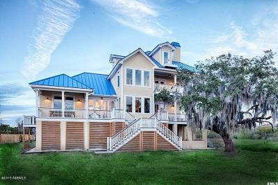 Beaufort Single Family Home For Sale: 21 Sweet Grass Drive