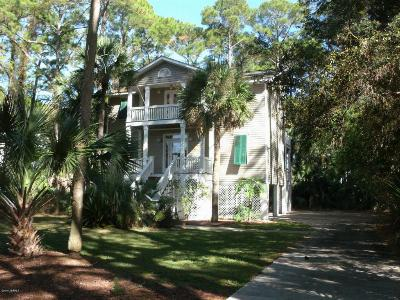 Fripp Island Single Family Home For Sale: 823 Bonito