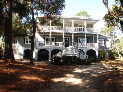 Fripp Island Single Family Home For Sale: 359 Wahoo Drive
