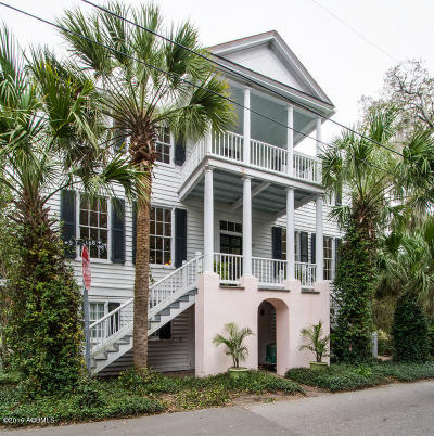 Beaufort Single Family Home For Sale: 409 Federal Street