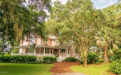 Beaufort, Beaufort Sc, Beaufot Single Family Home For Sale: 1 Bobwhite Court