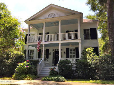 Beaufort Single Family Home For Sale: 10 Grace Park