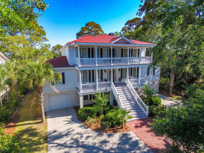 Fripp Island Single Family Home For Sale: 4 Spy Glass Lane