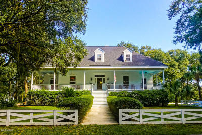 Beaufort County Single Family Home Under Contract - Take Backup: 161 Coosaw River Drive