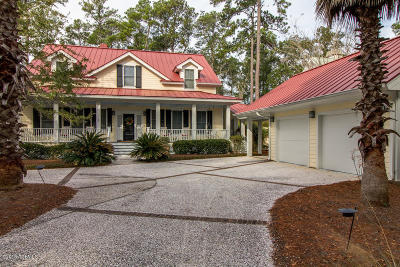 Beaufort County Single Family Home For Sale: 1055 Curisha Point S
