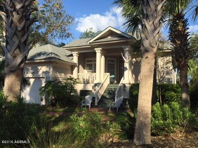 Fripp Island Single Family Home For Sale: 162 Ocean Creek Boulevard