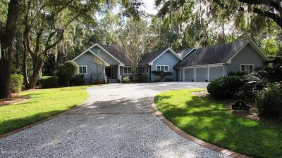 Dataw Island Single Family Home Under Contract - Take Backup: 9 Sparrow Nest Point