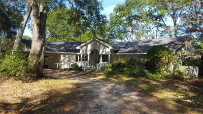 Beaufort Single Family Home For Sale: 7609 Patterson Road