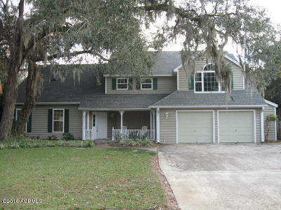 Beaufort, Beaufort Sc, Beaufot Single Family Home For Sale: 1098 Otter Circle