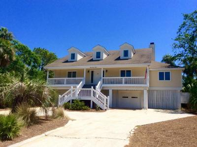 Fripp Island Single Family Home For Sale: 633 Dolphin Road