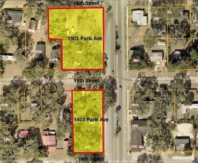 Port Royal, Port Ryal, Pt. Royal Residential Lots & Land For Sale: 1503 Paris Avenue