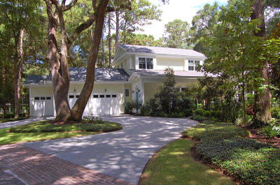 Dataw Island Single Family Home For Sale: 1501 Spring Well Road