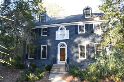Beaufort County Single Family Home For Sale: 20 Burckmyer Drive