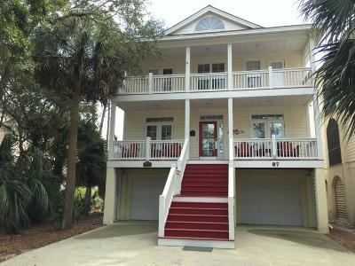 Beaufort County Single Family Home For Sale: 87 Ocean Creek Boulevard