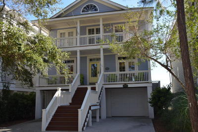 Fripp Island Single Family Home For Sale: 75 Ocean Creek Boulevard