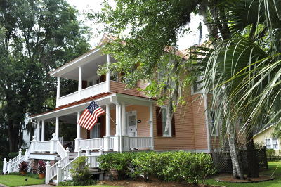 Historic Dist/Old Pt., Historic District/Bay Single Family Home For Sale: 502 Washington Street
