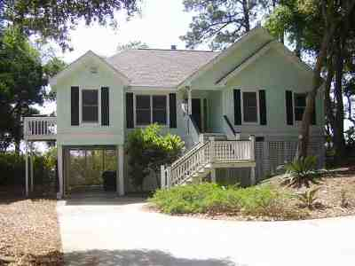 Beaufort County Single Family Home For Sale: 59 Ocean Marsh Lane