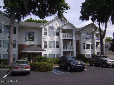 Beaufort County Condo/Townhouse For Sale: 1231 Lady's Island Drive #312