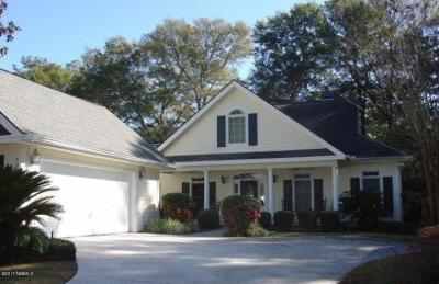 Beaufort County Single Family Home For Sale: 109 Locust Fence Road
