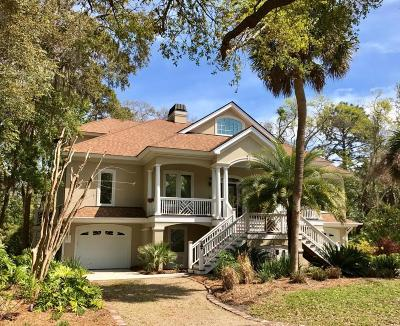 Fripp Island Single Family Home For Sale: 1 Fiddlers Point
