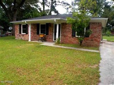 Beaufort, Beaufort Sc, Beaufot Single Family Home For Sale: 1107 Hodge Drive