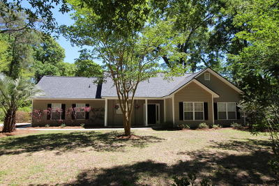 Beaufort Single Family Home Under Contract - Take Backup: 141 Marsh Drive