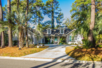 Beaufort County Single Family Home For Sale: 158 Dataw Drive