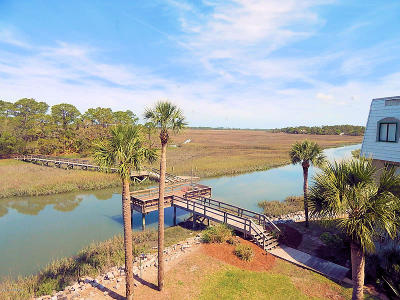 Fripp Island Condo/Townhouse For Sale: 180 Beach Club Villa