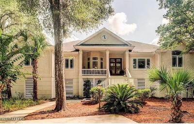 Okatie Single Family Home For Sale: 1 Heron Point