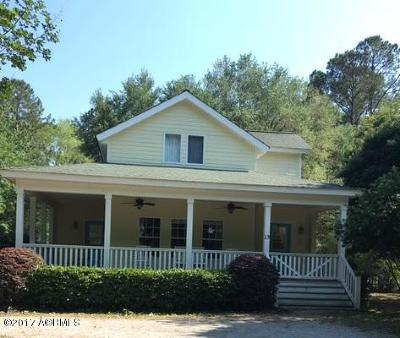 Beaufort Single Family Home For Sale: 15 East River Drive