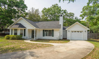Beaufort County Single Family Home Under Contract - Take Backup: 4 Beau Court
