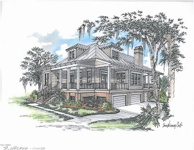 Beaufort County Single Family Home For Sale: 1 Marsh Hen Cove