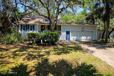 Beaufort County Single Family Home For Sale: 706 Sea Dragon Lane