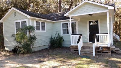 Beaufort, Beaufort Sc, Beaufot Single Family Home For Sale: 141 Johnson Landing Road