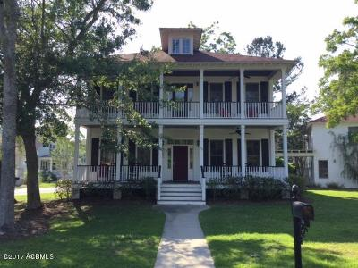 Beaufort County Single Family Home For Sale: 30 E National Boulevard