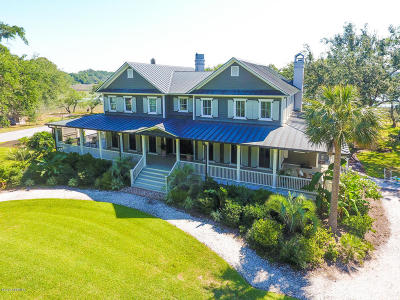 Beaufort, Beaufort Sc, Beaufot Single Family Home For Sale: 10 Sandy Ridge Road