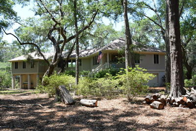 Beaufort County Single Family Home Under Contract - Right Of Firs: 36 E River Drive