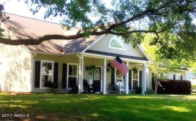 Beaufort Single Family Home Under Contract - Take Backup: 1007 Mustelidae Road