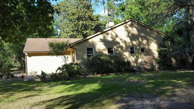 Baufort, Beaufort, Beaufot, Beufort Single Family Home Under Contract - Take Backup: 6810 Oakmont Drive
