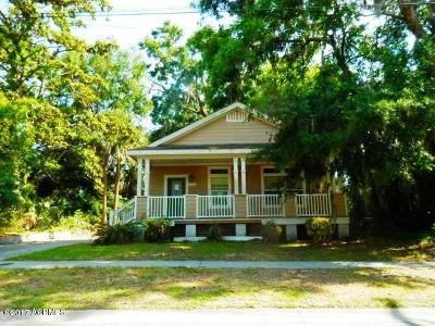 Beaufort, Beaufort Sc, Beaufot, Beufort Single Family Home For Sale: 1922 Duke Street