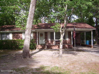 Beaufort, Beaufort Sc, Beaufot Single Family Home For Sale: 805 Elizabeth Lane