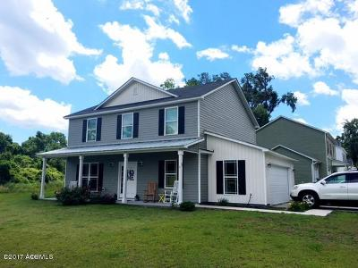 Beaufort, Beaufort Sc, Beaufot, Beufort Single Family Home For Sale: 11 Spearmint Circle