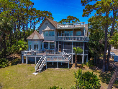 Fripp Island Single Family Home For Sale: 3 Crooked Creek Lane