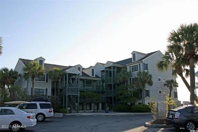 Fripp Island Condo/Townhouse For Sale: 731 N Hampton Court
