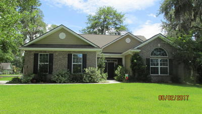 Beaufort Single Family Home For Sale: 1100 Otter Circle